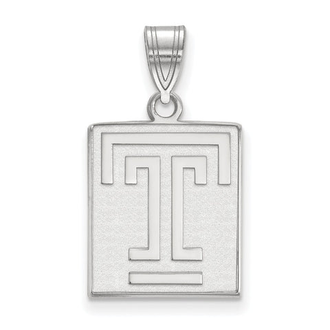 14kw LogoArt Temple University Medium Pendant