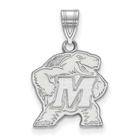 14kw LogoArt University of Maryland Medium Pendant