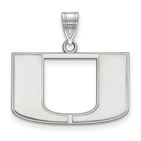 10kw LogoArt University of Miami Medium Pendant