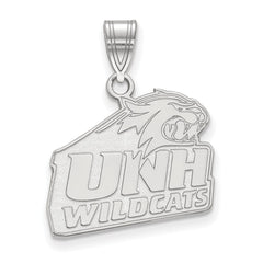 Sterling Silver LogoArt University of New Hampshire Medium Pendant