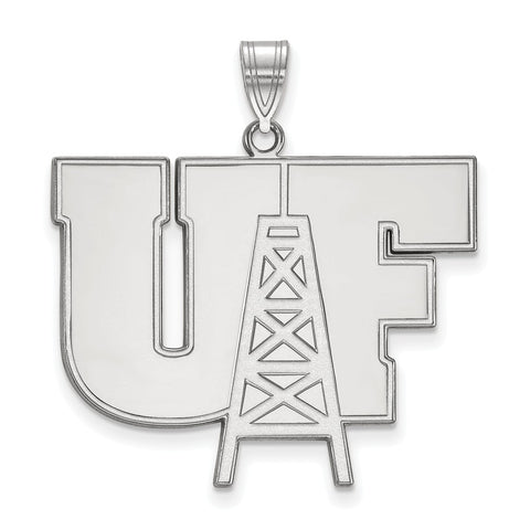 Sterling Silver LogoArt University of Findlay XL Pendant