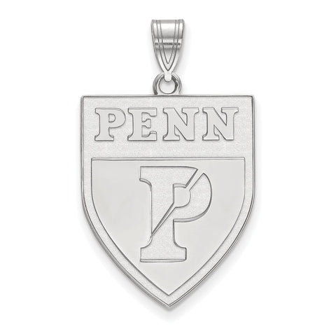 Sterling Silver LogoArt University of Pennsylvania XL Pendant