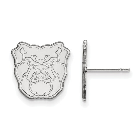 Sterling Silver LogoArt Butler University Small Post Earrings