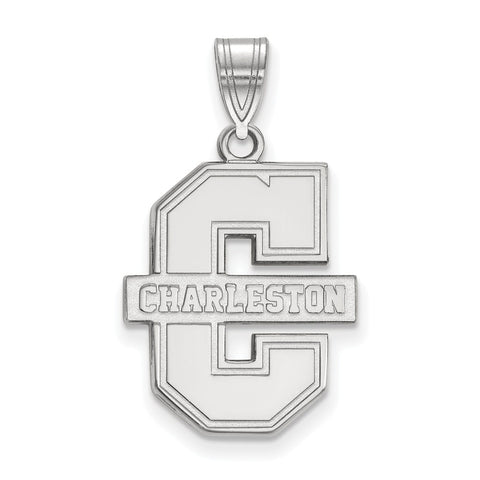 14kw LogoArt College of Charleston Large Pendant