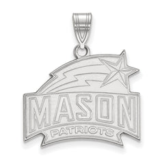 14kw LogoArt George Mason University Large Pendant