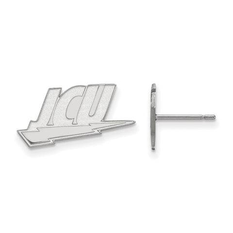 14kw LogoArt John Carroll University Small Post Earrings