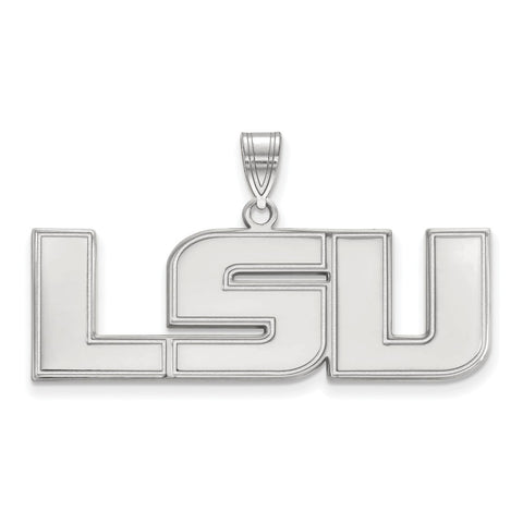 14kw LogoArt Louisiana State University Large Pendant