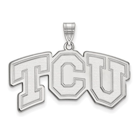10kw LogoArt Texas Christian University Large Pendant