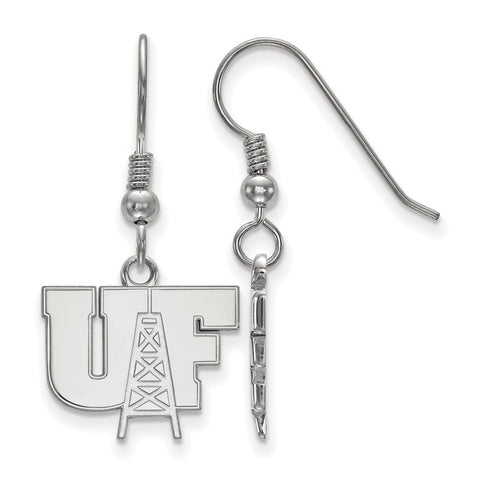 Sterling Silver LogoArt University of Findlay Small Dangle Earrings