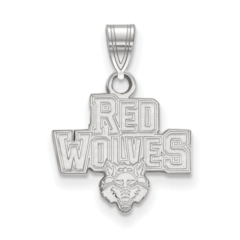 10kw LogoArt Arkansas State University Small Pendant