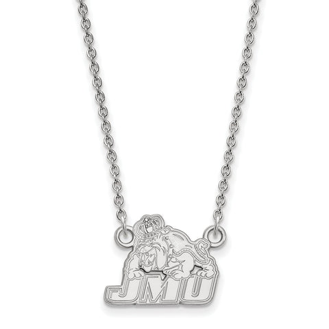 10kw LogoArt James Madison University Small Pendant w/Necklace