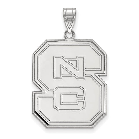 14kw LogoArt North Carolina State University XL Pendant