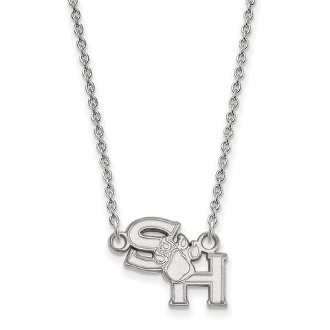 14kw LogoArt Sam Houston State University Small Pendant w/Necklace