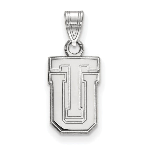 Sterling Silver LogoArt The University of Tulsa Small Pendant