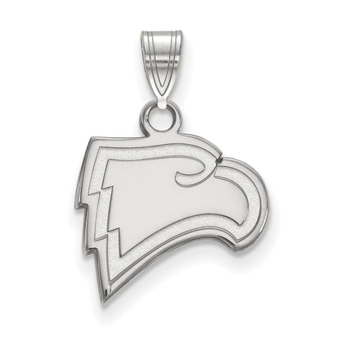 Sterling Silver LogoArt Winthrop University Small Pendant