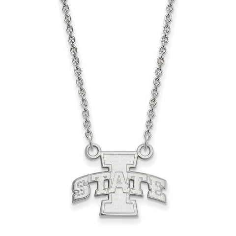 10kw LogoArt Iowa State University Small Pendant w/Necklace
