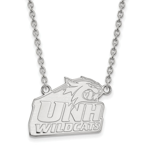 10kw LogoArt University of New Hampshire Large Pendant w/Necklace