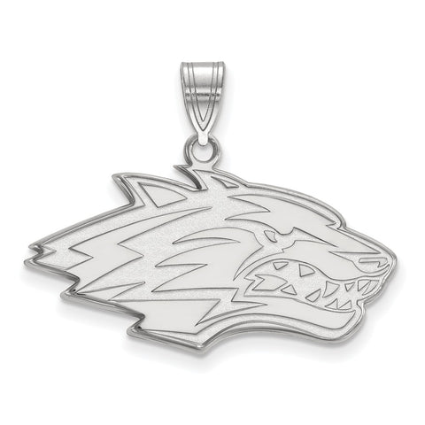 Sterling Silver LogoArt University of New Mexico Large Pendant