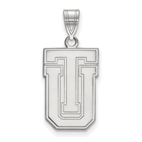 Sterling Silver LogoArt The University of Tulsa Large Pendant