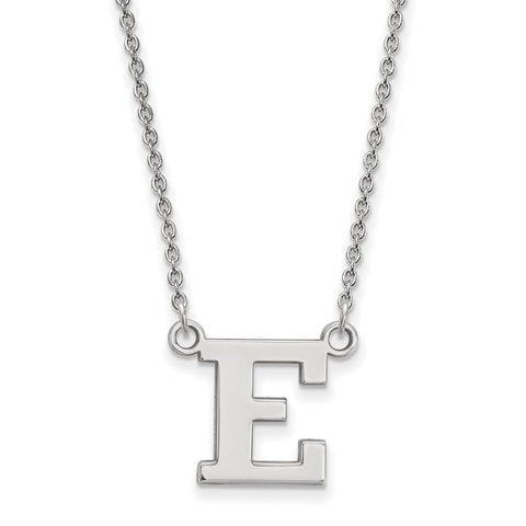 14kw LogoArt Eastern Michigan University Small Pendant w/Necklace