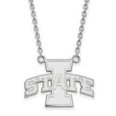 10kw LogoArt Iowa State University Large Pendant w/Necklace