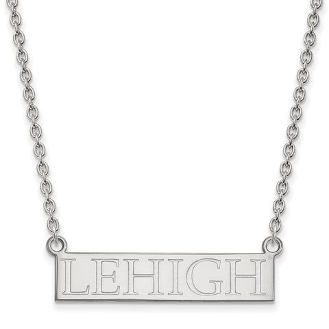 Sterling Silver LogoArt Lehigh University Large Pendant w/Necklace