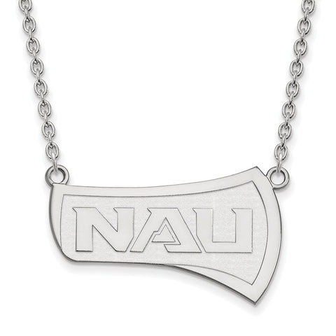 14kw LogoArt Northern Arizona University Large Pendant w/Necklace