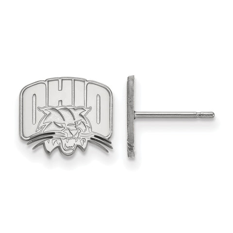 14kw LogoArt Ohio University XS Post Earrings