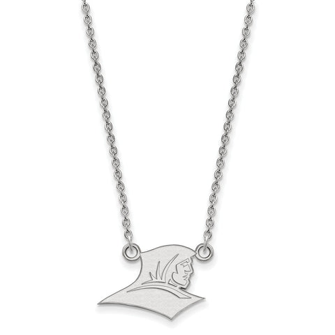 Sterling Silver LogoArt Providence College Small Pendant w/Necklace