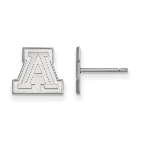 14kw LogoArt University of Arizona XS Post Earrings