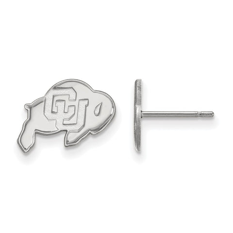 14kw LogoArt University of Colorado XS Post Earrings