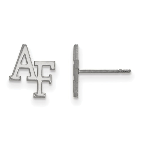 14kw LogoArt United States Air Force Academy XS Post Earrings