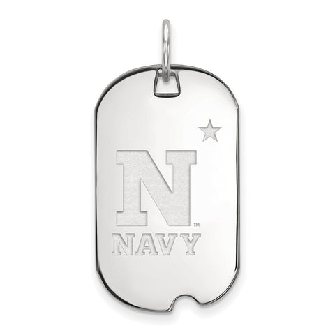 14kw LogoArt United States Naval Academy Small Dog Tag