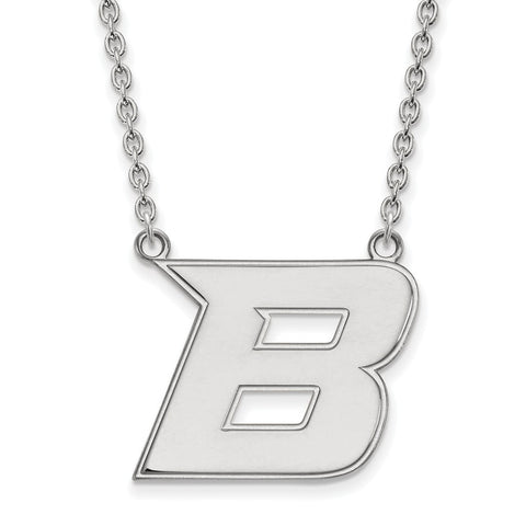 10kw LogoArt Boise State University Large Pendant w/Necklace
