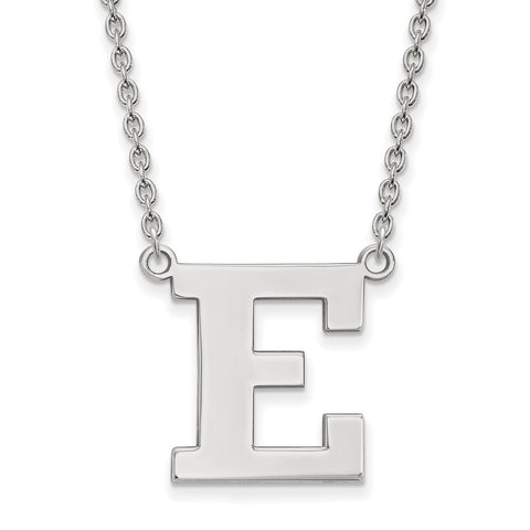 14kw LogoArt Eastern Michigan University Large Pendant w/Necklace