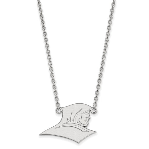 Sterling Silver LogoArt Providence College Large Pendant w/Necklace
