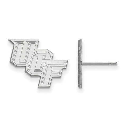 10kw LogoArt University of Central Florida Small Post Earrings