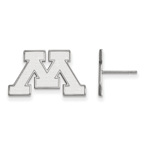 10kw LogoArt University of Minnesota Small Post Earrings
