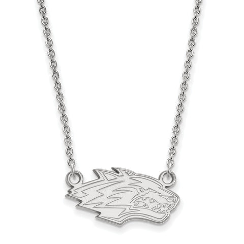 10kw LogoArt University of New Mexico Small Pendant w/Necklace