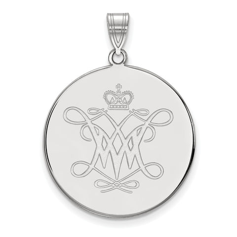 14kw LogoArt William And Mary XL Disc Pendant