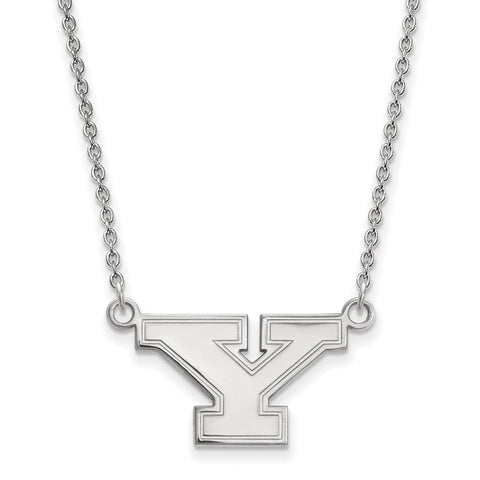 14kw LogoArt Youngstown State University Small Pendant w/Necklace