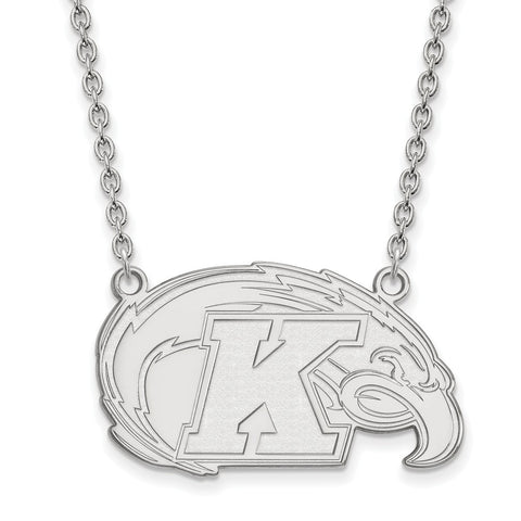 14kw LogoArt Kent State University Large Pendant w/Necklace