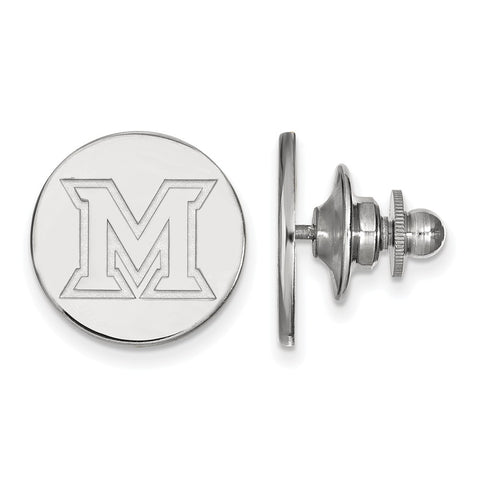 14kw LogoArt Miami University Lapel Pin