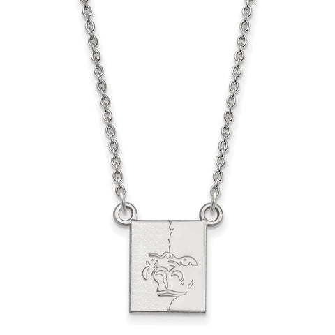 14kw LogoArt Pittsburg State University Small Pendant w/Necklace