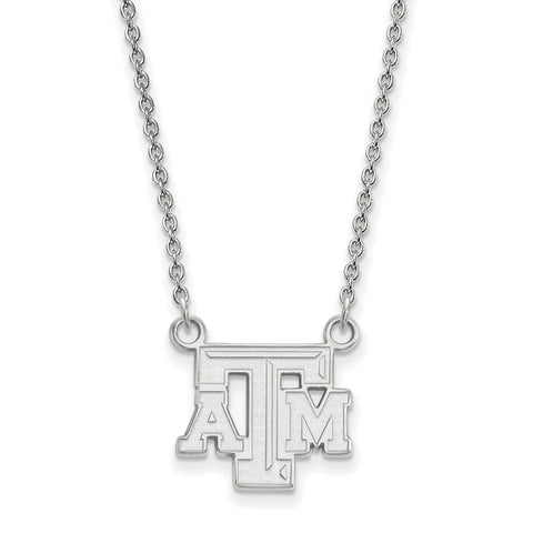 10kw LogoArt Texas A&M University Small Pendant w/Necklace