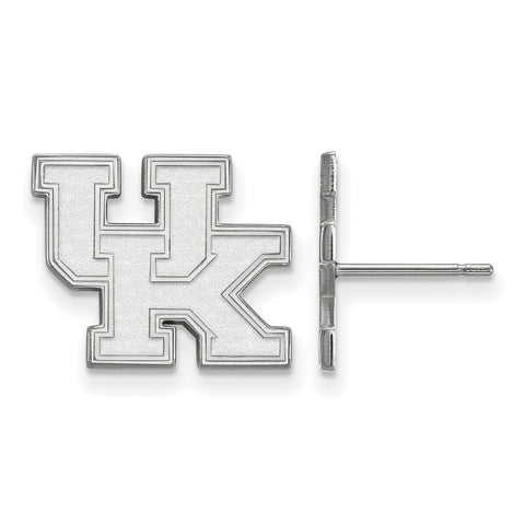 10kw LogoArt University of Kentucky Small Post Earrings