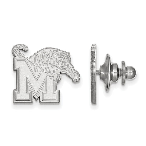 14kw LogoArt University of Memphis Lapel Pin