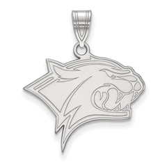 Sterling Silver LogoArt University of New Hampshire Large Pendant