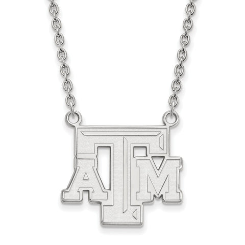 10kw LogoArt Texas A&M University Large Pendant w/Necklace