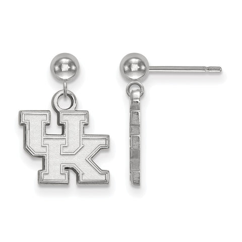 14kw LogoArt University of Kentucky Earrings Dangle Ball